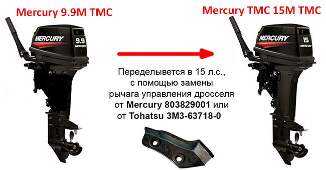 Mercury 9.9TMC в Mercury 15TMC
